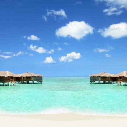 Maldive - Cottage nell'acqua