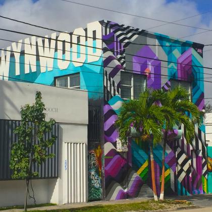 Quartiere di Wynwood a Miami